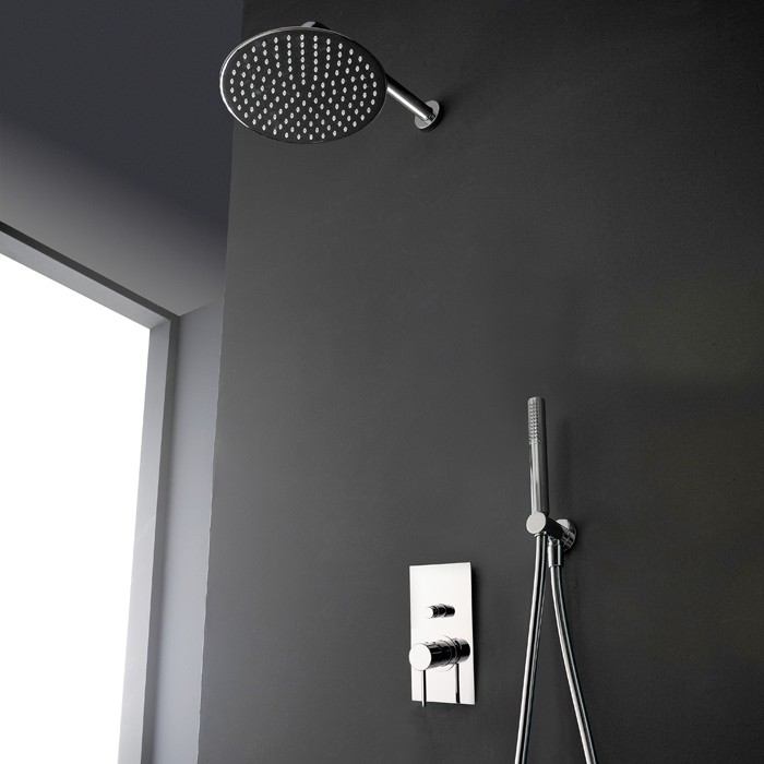 Douche encastrable amenagement dressing chambre parentale colonne de douche encastre design - Mitigeur douche encastrable ...